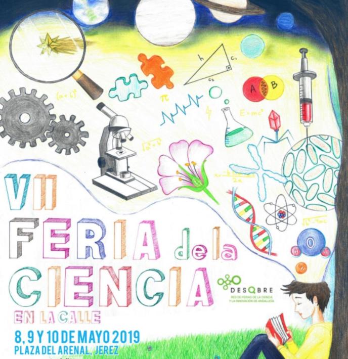 Participamos en la feria de de las ciencias de Jerez y… ¡GANAMOS!