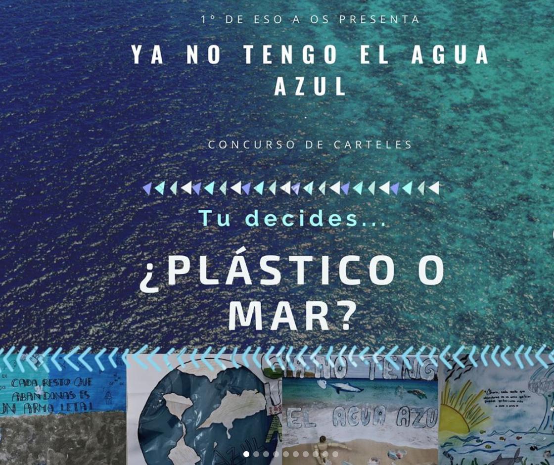 Ya no tengo el agua azul: ABP sobre la concienciación de cuidado del mar