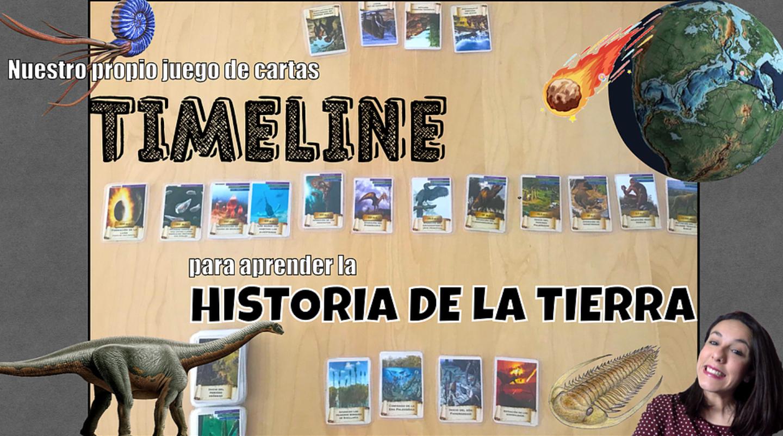 TimeLine (Juego de cartas): La historia de la Tierra