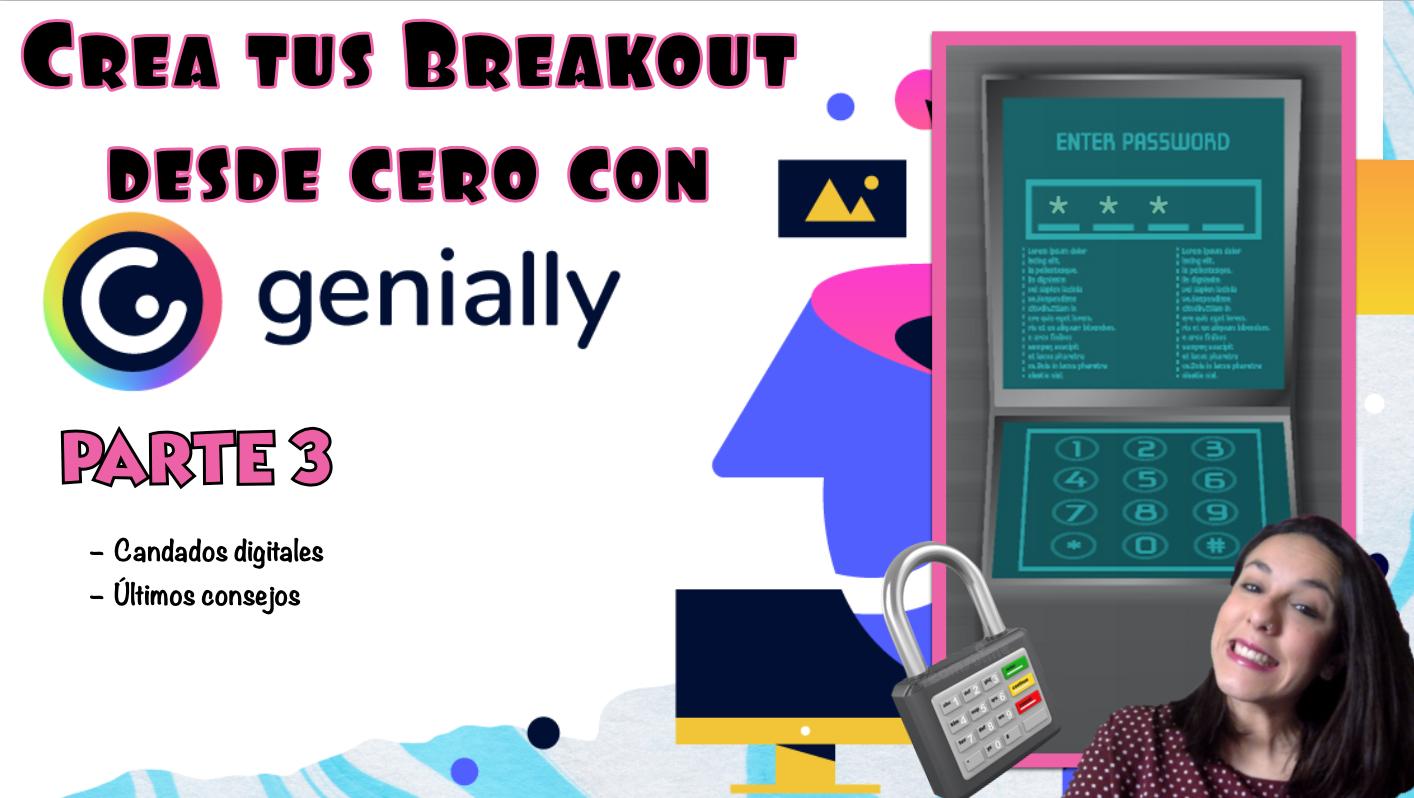 Cómo crear un Breakout o Escape game con genially desde 0