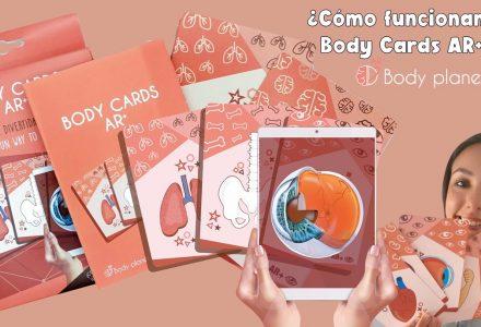 Hoy puedes tener un órgano en tu mano gracias las BODY CARDS AR+